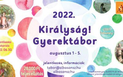 Királyság! Gyerektábor – 2022